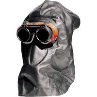 Kopfschutzhaube aus Nappaleder 001