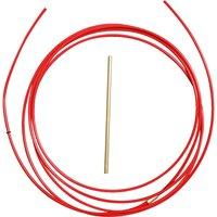 WILPEG Teflonseele - PTFE Seele rot 001