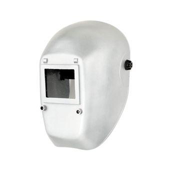 Kopfschutzschild aluminiumfarbig beschichtet