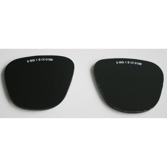 Brillengläser oval
