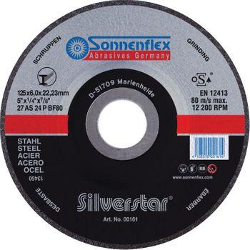 Silverstar Stahl Schruppscheibe