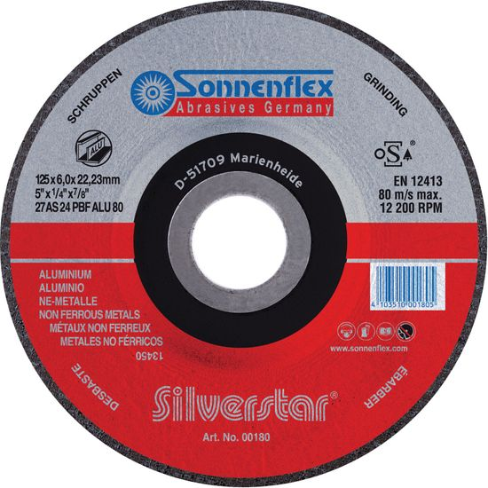 Sonnenflex Silverstar Alu Schruppscheibe