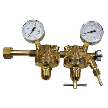 Druckminderer Argon/CO2 zweistufig