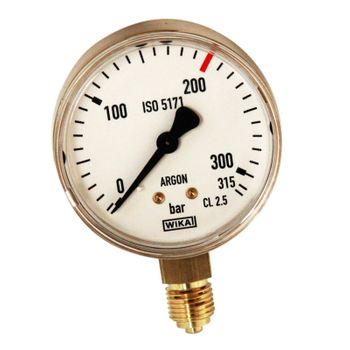 Inhaltsmanometer Argon