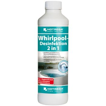 HOTREGA 2 in 1 Whirlpool Desinfektion  Konzentrat 500 ml 001