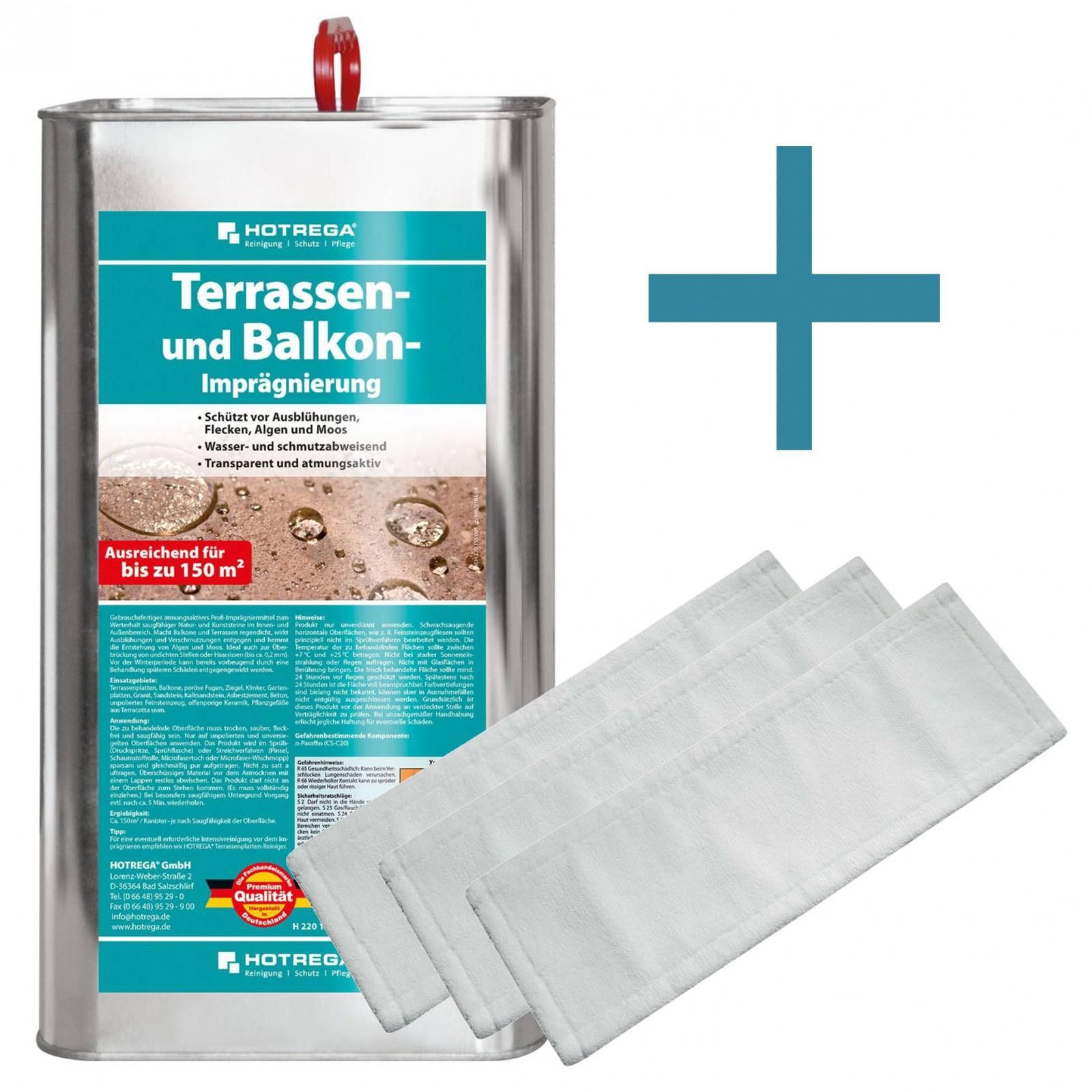 HOTREGA Terrassen und Balkon Imprägnierung 5L S...