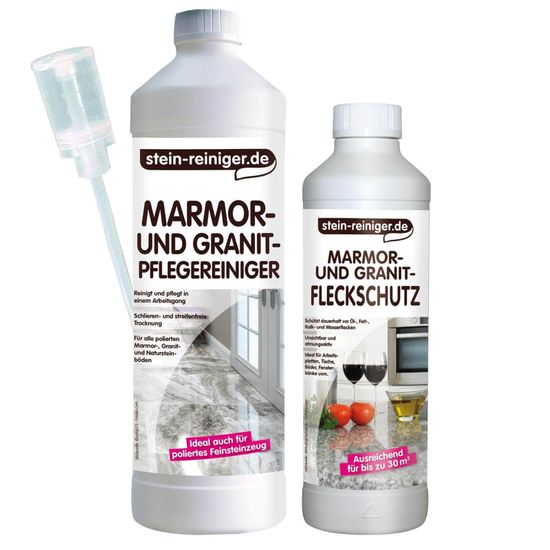Marmor Granit Pflege und Schutz SET