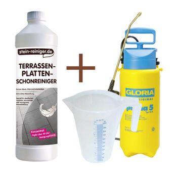Terrassenplatten Schonreiniger SET 001