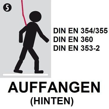 MILLER by Honeywell Titan Absturzsicherung Dach- & Leiterset 3 tlg. 5