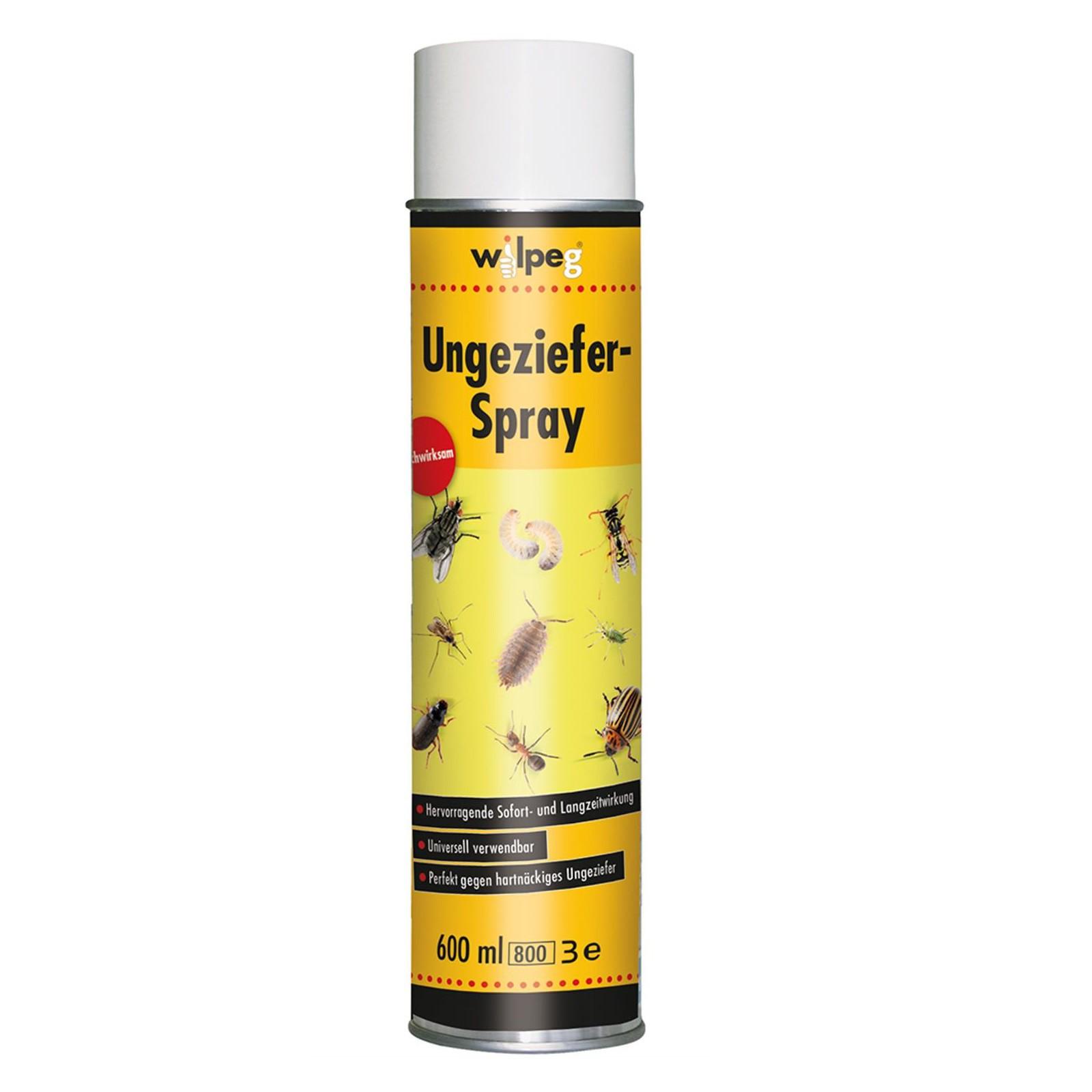 WILPEG Ungezieferspray Insektenvernichter Insek...