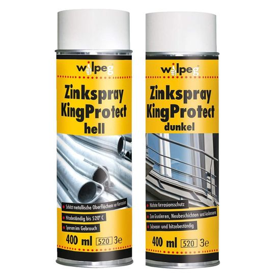 WILPEG Zinkspray 400 ml