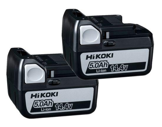 HiKOKI HITACHI 2x Wechselakkus BSL1450x2 14,4 V / 5 Ah
