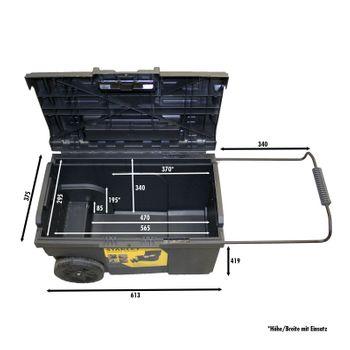 STANLEY STST1-70715 Mobile Montagebox, 57 L 2