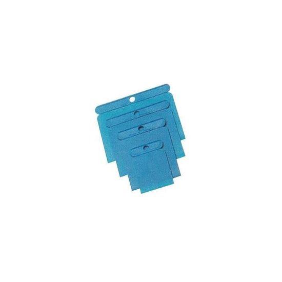 WILPEG Japanspachtel-Set Kunststoff 4 tlg.