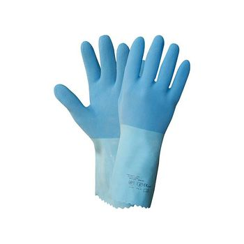 NITRAS Blue Power Grip Latexhandschuh 1611 1