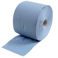 Putzrolle in blau (3-lagig)