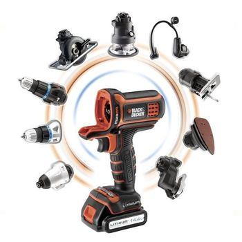 Black & Decker MultiEvo Kompressor-Kopf MTNF9 8