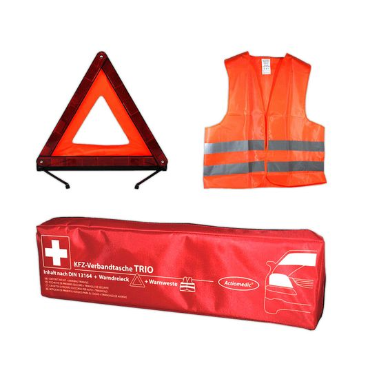Actiomedic Car Safety KFZ-Verbandtasche TRIO