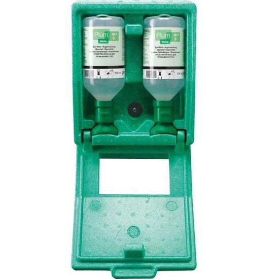 plum Augenspülstation in Wandbox inkl. 2x 500 ml Augenspüllösung