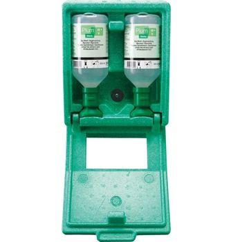 plum Augenspülstation in Wandbox inkl. 2x 500 ml Augenspüllösung 1