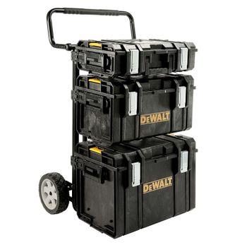 DeWALT 4in1 Tough System Set 3 1-70-349 ToughBoxen + Trolley 001