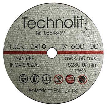 TECHNOLIT Trennscheibe Inox für Tiefenschneider 1