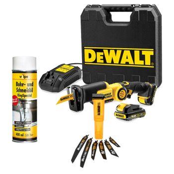 DeWALT Akku-Säbelsäge DCS310D2-QW - Set inkl. Zubehör 001