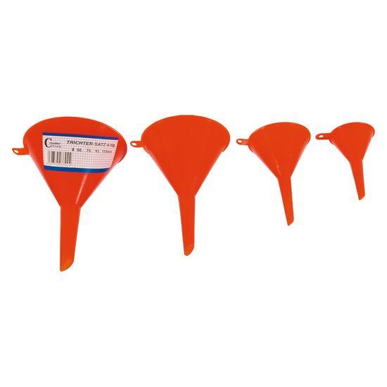 Condor Werkzeuge Trichter-Satz 3702 - 4 tlg.