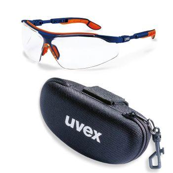 uvex Schutzbrille i-vo 9160265 im Set inkl. Brillenetui 001