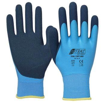 NITRAS Soft Grip Polyesterhandschuhe 3560 001