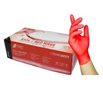 NITRAS Medical 8326 Red Wave Einmalhandschuhe 1