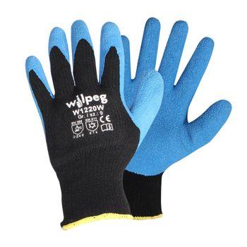 Kälteschutz Strickhandschuhe Latex W1220W