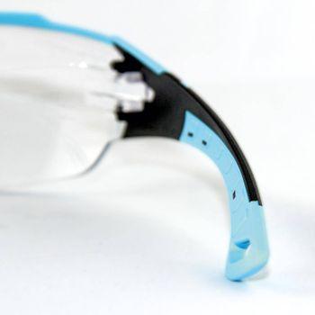 uvex Schutzbrille pheos cx2 9198256 im Set inkl. Brillenetui 4