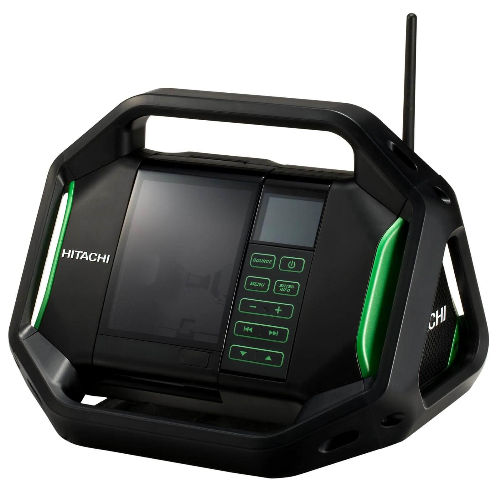 HITACHI Akku-Radio UR18DSAL Basic 14,4V / 18V -...