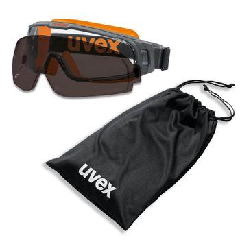 uvex Vollsichtbrille u-sonic 9308 mit Beutel - verschiedene Ausführungen 6