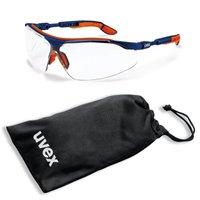 uvex Schutzbrille i-vo 9160265 im Set inkl. Mikrofaser-Beutel