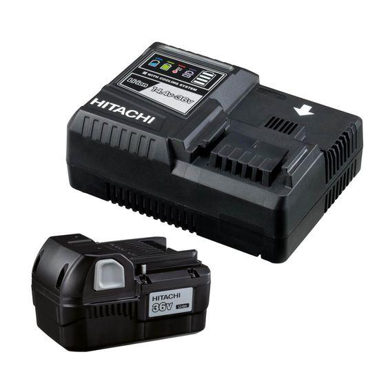 HITACHI Akku BSL3620  36 V + Ladegerät Set UC36YSL Booster Pack