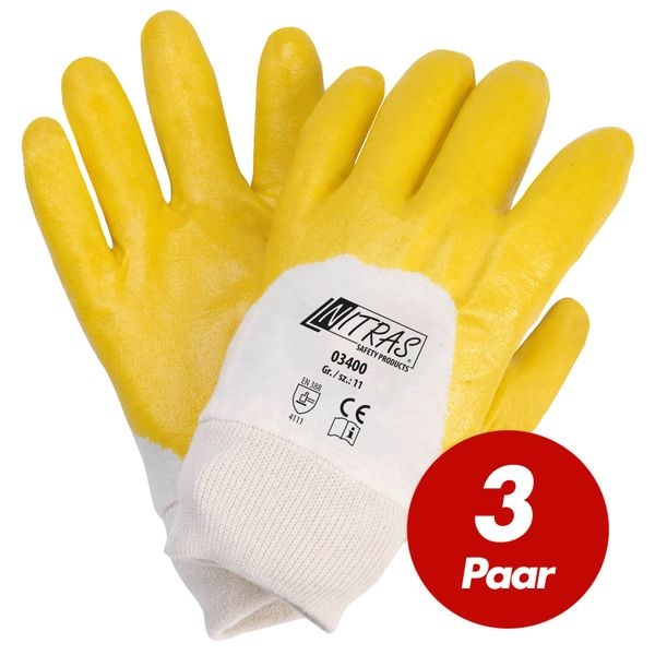 NITRAS Nitrilhandschuhe 03400 VPE 3 Paar