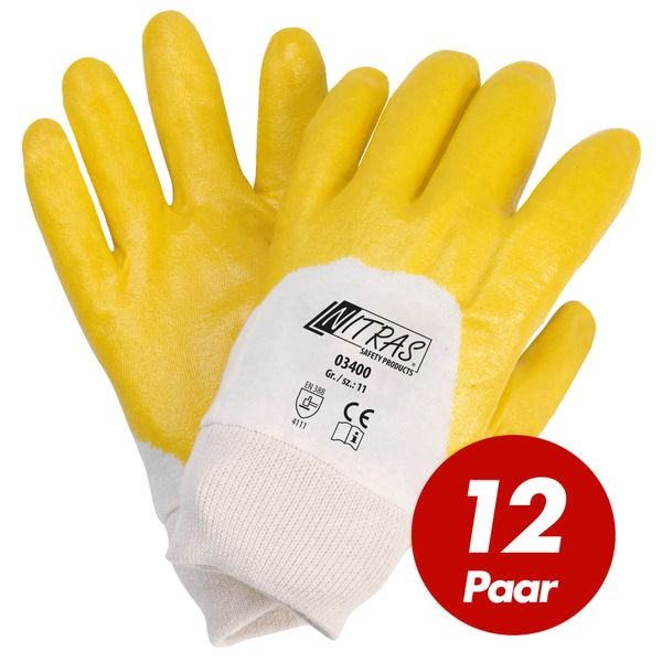 NITRAS Nitrilhandschuhe 03400 VPE 12 Paar