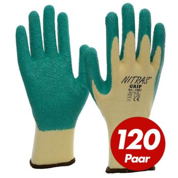 NITRAS Grip Allroundhandschuhe 1603 - VPE 120 Paar 1