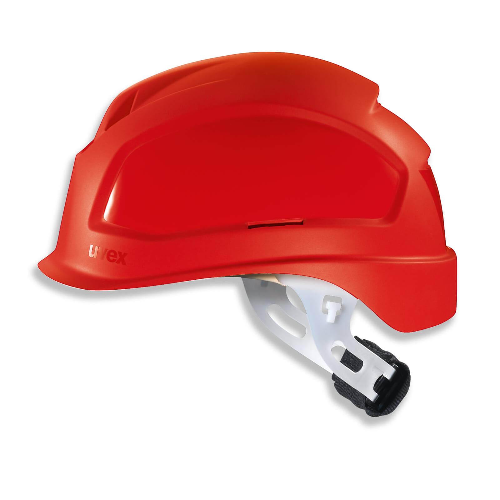 Bauhelm rot Arbeitshelm Helm Bauarbeiterhelm Schutzhelm Kopfschutz 53-61 cm