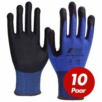 NITRAS Schnittschutzhandschuh Skin Flex 6640 CUT 5 - VPE 10 Paar 001