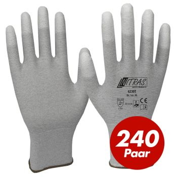 NITRAS ESD-Handschuhe 6230T - VPE 240 Paar 1