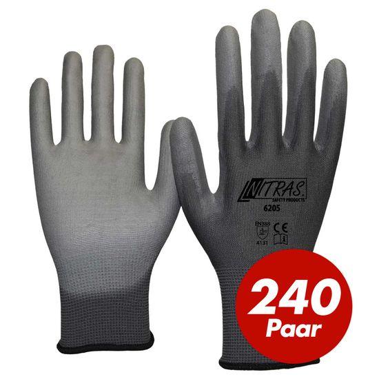 NITRAS Nylon Strickhandschuh 6205 - VPE 240 Paar