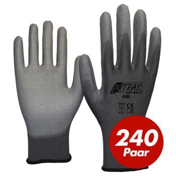 NITRAS Nylon Strickhandschuh 6205 - VPE 240 Paar 1