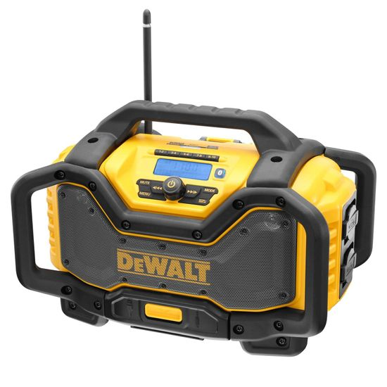 DeWALT Akku- und Netz-Radio DCR027-QW