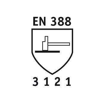 NITRAS 12 Paar Dexter 2 - Mechanikerhandschuhe 8910 3