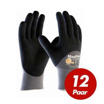 ATG Maxiflex 12 Paar Ultimate Nylon-Strickhandschuhe 34-875 1