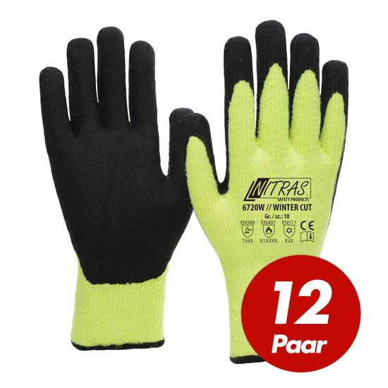 12 Paar Winter-Cut Handschuhe TAEKI5 6720W