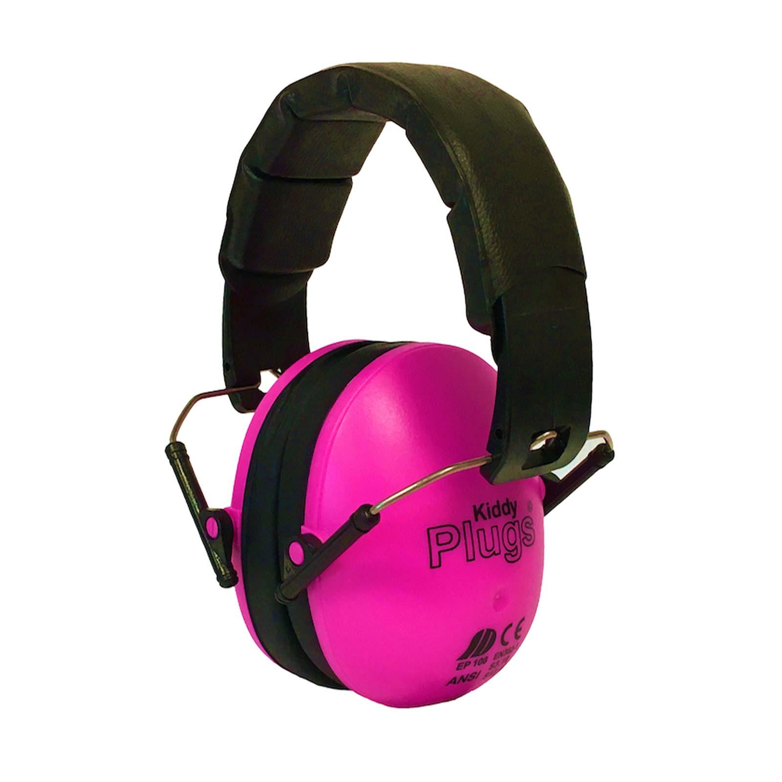 KiddyPlugs Kinder - Baby Kapselgehörschutz, Lärmschutz Kopfhörer, Ohrenschützer - schadstoffarm - faltbar größenverstellbar - sehr weich
